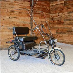 Steven Tyler's Three Wheel Motorized Vehicle