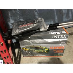 INTEX SEAHAWK 3 PERSON INFLATABLE BOAT