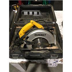"""DEWALT DW359 - 7 1/4"""" CIRCULAR SAW WITH CASE"""