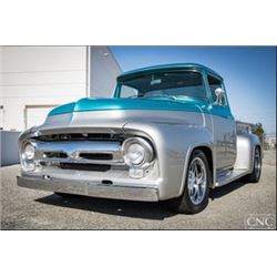 1:30PM SATURDAY FEATURE 1956 FORD F100 BIG WINDOW TRUCK