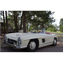 2:00PM SATURDAY FEATURE STUNNING MERCEDES 300SL RESTOMOD