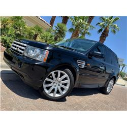 2006 LANDROVER RANGEROVER SPORT SUPERCHARGED