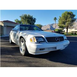 1999 MERCEDES BENZ SL500 ROADSTER