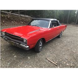 1969 DODGE DART CONVERTIBLE 383 SUPER RARE MOPAR