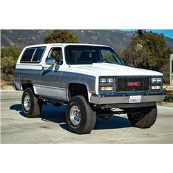 1989 GMC JIMMY 4WD