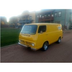 1967 CHEVROLET G10 CUSTOM PANEL VAN