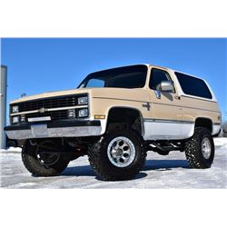 1984 CHEVROLET BLAZER K5 CUSTOM