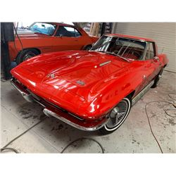 1966 CHEVROLET CORVETTE L36 NUMBERS MATCHING
