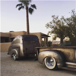 1950 HANDCRAFTED TEAR DROP TRAILER