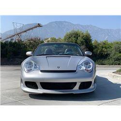 2004 PORSCHE 911 CABRIOLET TURBO CONVERTIBLE