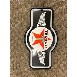 NO RESERVE TEXACO SIGN