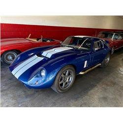 FRIDAY 1965 SHELBY DAYTONA FACTORY FIVE COUPE LS1 FUELIE