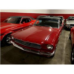 FRIDAY 1966 FORD MUSTANG C CODE 289 CONVERTIBLE