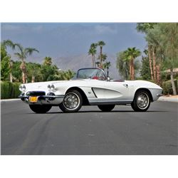 FRIDAY 1962 CHEVROLET CORVETTE CONVERTIBLE - HARD TOP SOFT TOP