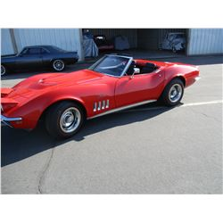 FRIDAY 1969 CHEVROLET CORVETTE 427 TRI POWER 4 SPEED BIG BLOCK