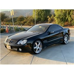 FRIDAY 2007 MERCEDES-BENZ SL-CLASS SL550 CONVERTIBLE