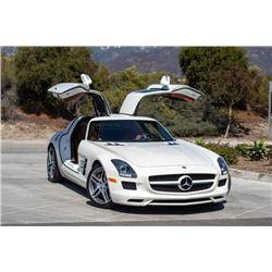 2012 MERCEDES BENZ SLS AMG GULL WING SUPER CAR