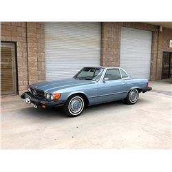 1974 MERCEDES 450SL CONVERTIBLE