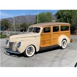 1940 FORD WOODY CUSTOM SHOW WINNER ONE OF A KIND MUST SEE