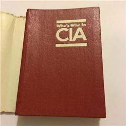 Books The CIA Whos Who in the CIA