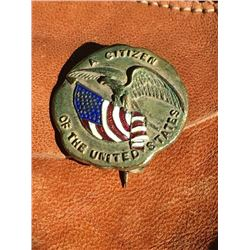 Citizenship Pin First Quarter 20th Century