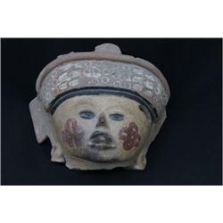 A VERACRUZ TOLOME HEAD c. 600 - 900 AD