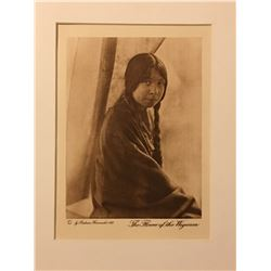 Photogravure Wanamaker Dixon Expedition A Young Girl
