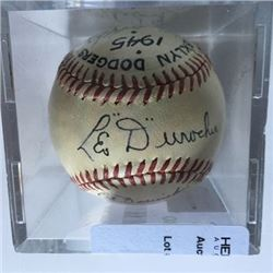 Leo Durocher  Baseball 1945 Brooklyn Dodgers