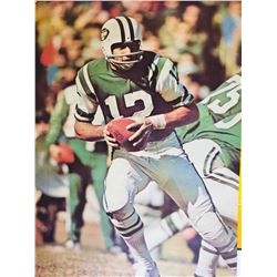 Sports Illustrated Poster Joe Namath Vintage