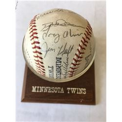 Minnesota Twins Signed Ball 1970s