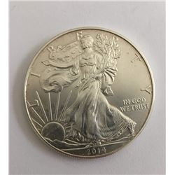 One Ounce Bullion Silver Eagle