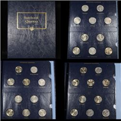 Complete Washington State Quarters book 1999-2008 50 coins . .