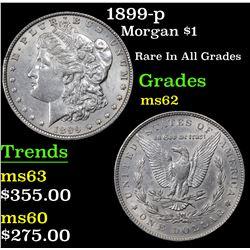 1899-p Morgan Dollar $1 Grades Select Unc