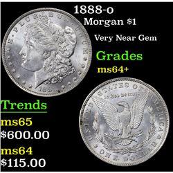 1888-o Morgan Dollar $1 Grades Choice+ Unc