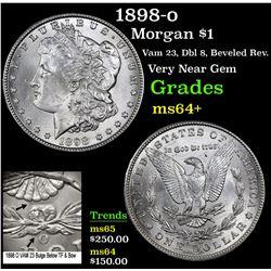 1898-o Morgan Dollar $1 Grades Choice+ Unc