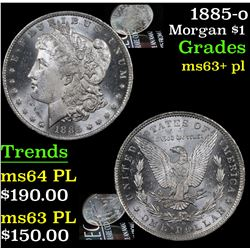1885-o Morgan Dollar $1 Grades Select Unc+ PL