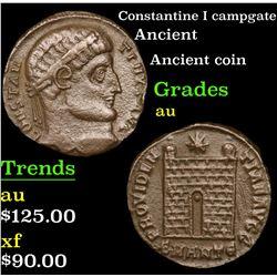 Constantine I campgate Ancient 1c Grades au
