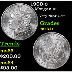 1900-o Morgan Dollar $1 Grades Choice+ Unc