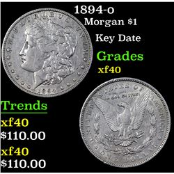 1894-o Morgan Dollar $1 Grades xf