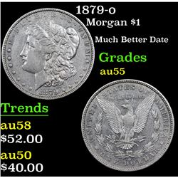 1879-o Morgan Dollar $1 Grades Choice AU