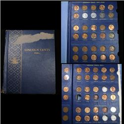 Complete Lincoln cent page 1959-1973 38 coins