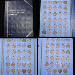Starter Lincoln cent book 1909-1940 40 coins