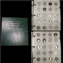 Partial Washington Quarters book 1968-1998 91 coins