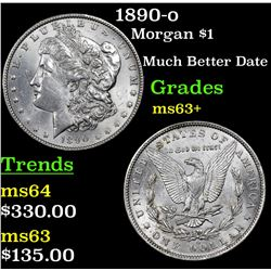 1890-o Morgan Dollar $1 Grades Select+ Unc