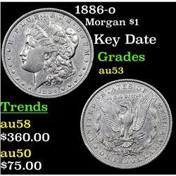 1886-o Morgan Dollar $1 Grades Select AU