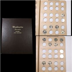 Starter Washington Quarter book 1965-1998 34 coins . Grades