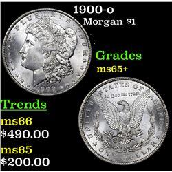 1900-o Morgan Dollar $1 Grades GEM+ Unc