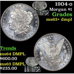 1904-o Morgan Dollar $1 Grades Select Unc+ DMPL