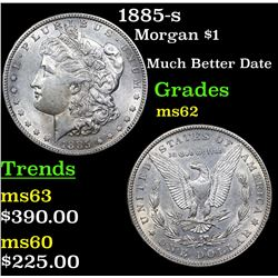 1885-s Morgan Dollar $1 Grades Select Unc