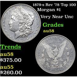 1879-s Rev '78 Top 100 Morgan Dollar $1 Grades Choice AU/BU Slider